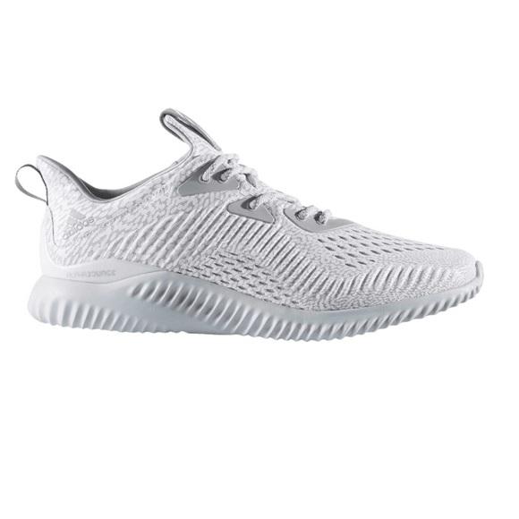 grande vente 0f3fe dbb61 Adidas AlphaBounce 3 AMS 'Clear Grey'